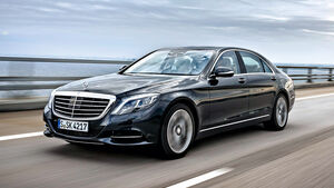 Mercedes S 500 Plug-in-Hybrid lang, Frontansicht