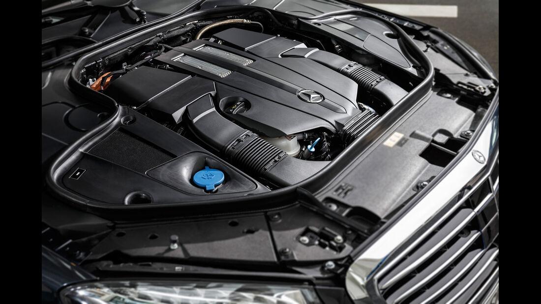 Mercedes S 500 Plug-in-Hybrid lang, Motor