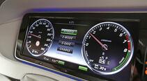 Mercedes S 500 Plug in Hybrid lang, Rundinstrumente