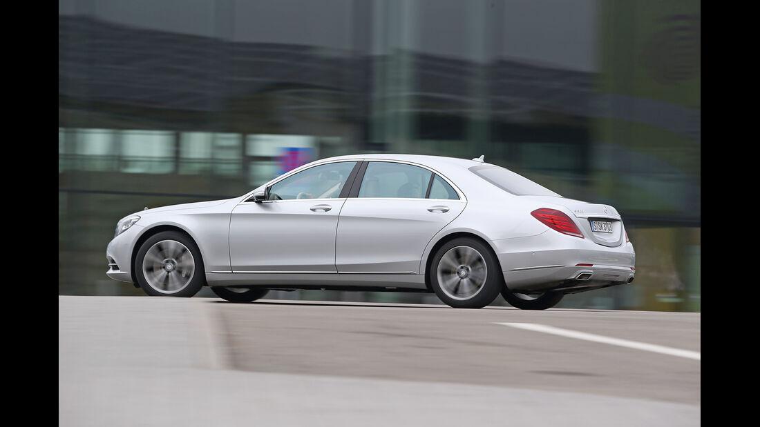 Mercedes S 500 Plug in Hybrid lang, Seitenansicht