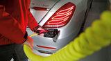 Mercedes S 500 Plug in Hybrid lang, Stromzufuhr
