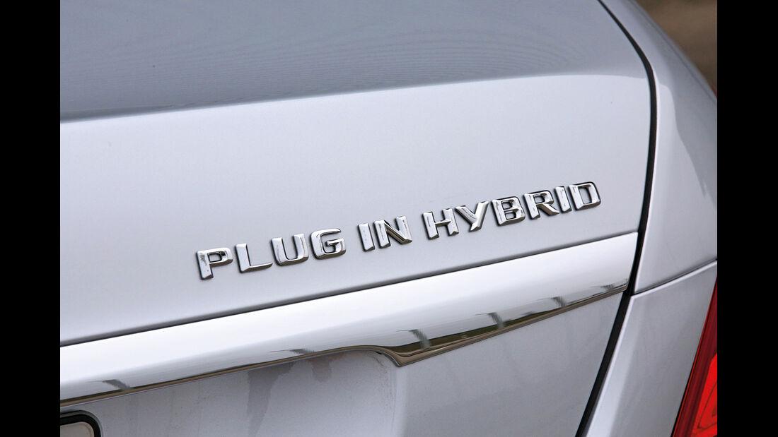 Mercedes S 500 Plug in Hybrid lang, Typenbezeichnung