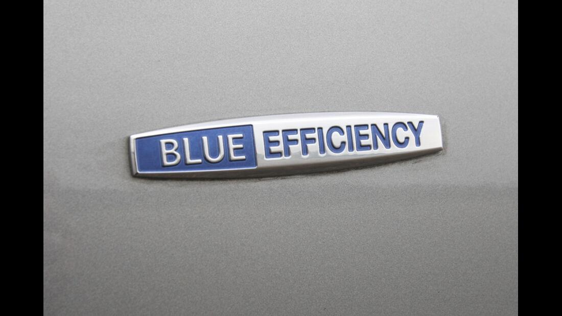 Mercedes S 500, Schriftzug, Blue Efficienty