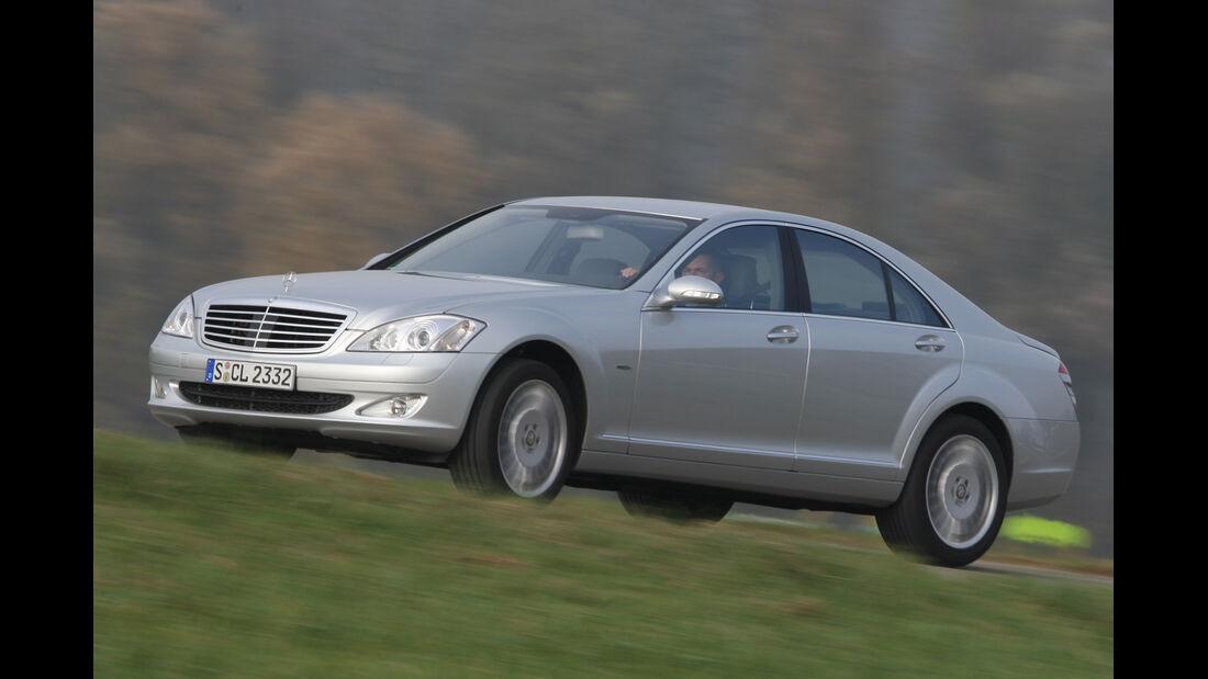 Mercedes S 500, Seitenansicht
