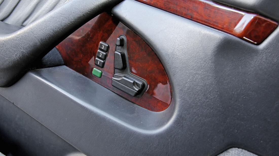 Mercedes S 500, Sitzverstellung