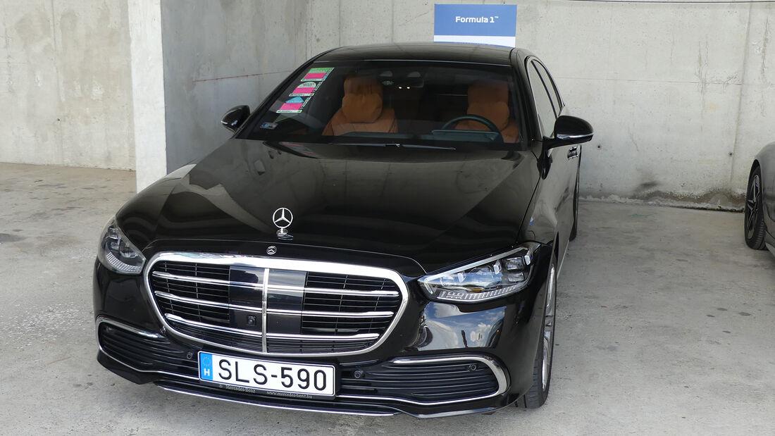 Mercedes S 500 - Stefano Domenicali - Formel 1 - GP Ungarn 2021
