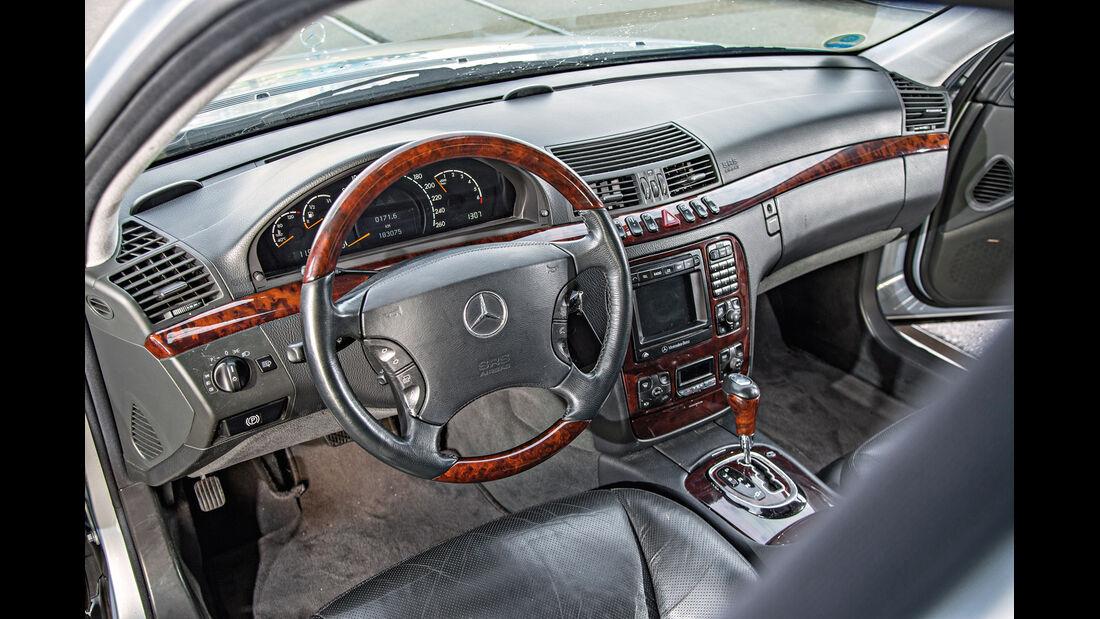 Mercedes S 500 (W220), Cockpit