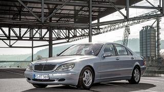 Mercedes S 500 (W220), Seitenansicht