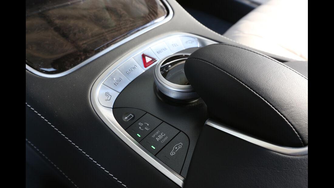 Mercedes S 500 lang, Bedienelemente