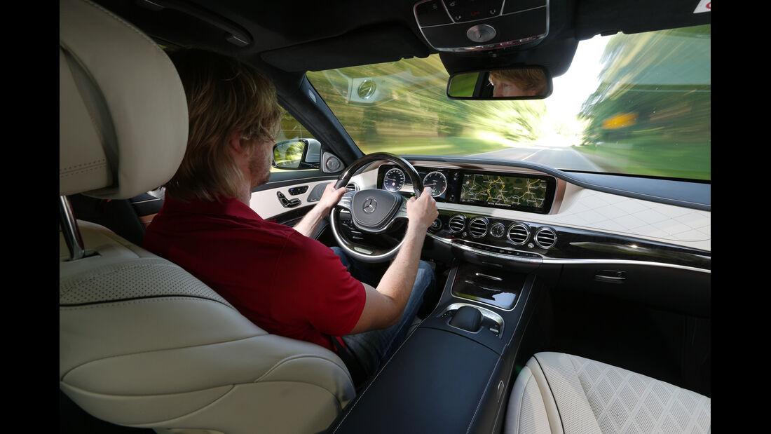 Mercedes S 500 lang, Cockpit