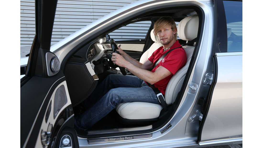 Mercedes S 500 lang, Fahrersitz