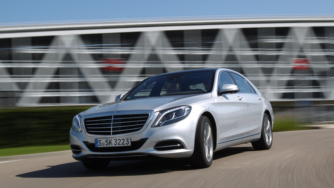 Mercedes S 500 lang, Frontansicht