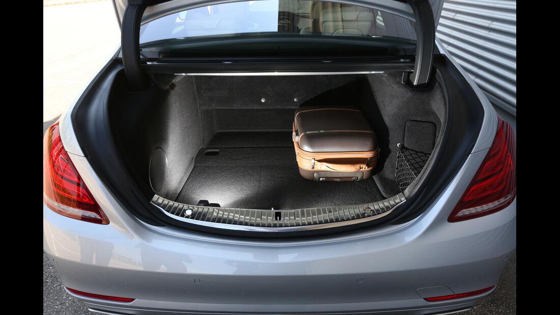 Mercedes S 500 lang, Kofferraum