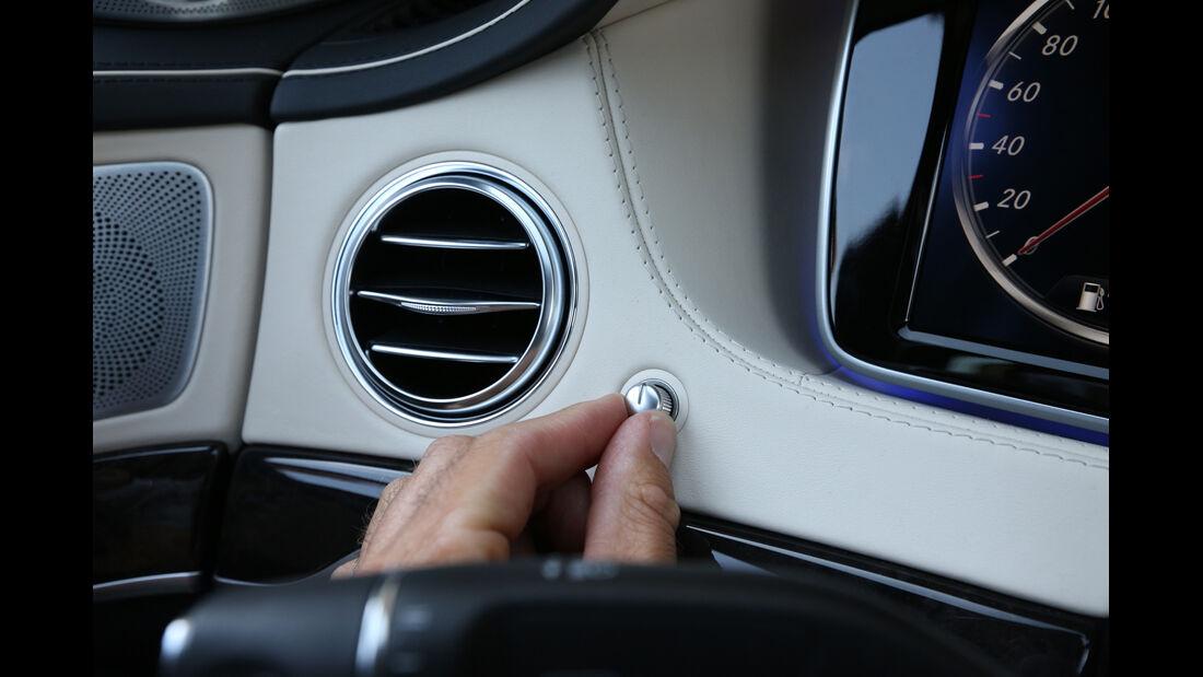Mercedes S 500 lang, Luftausströmer