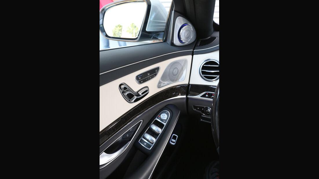 Mercedes S 500 lang, Sitzverstellung