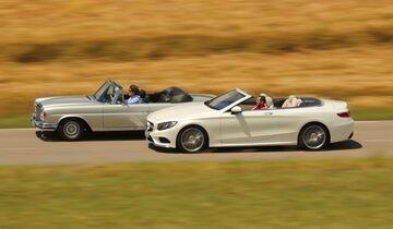 Mercedes S 500 und SE 280 3.5 Cabrio, Impression, Ausfahrt