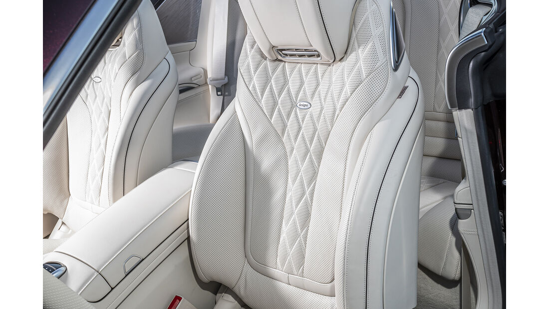 Mercedes S 560 Cabrio, Interieur