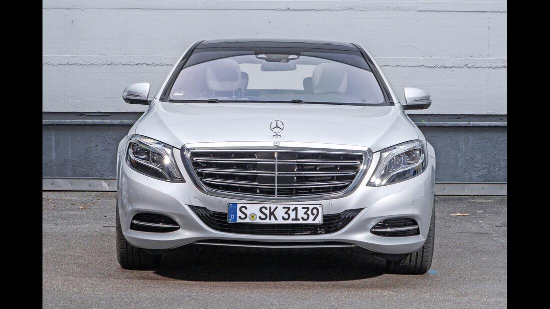Mercedes S 600 L, Frontansicht