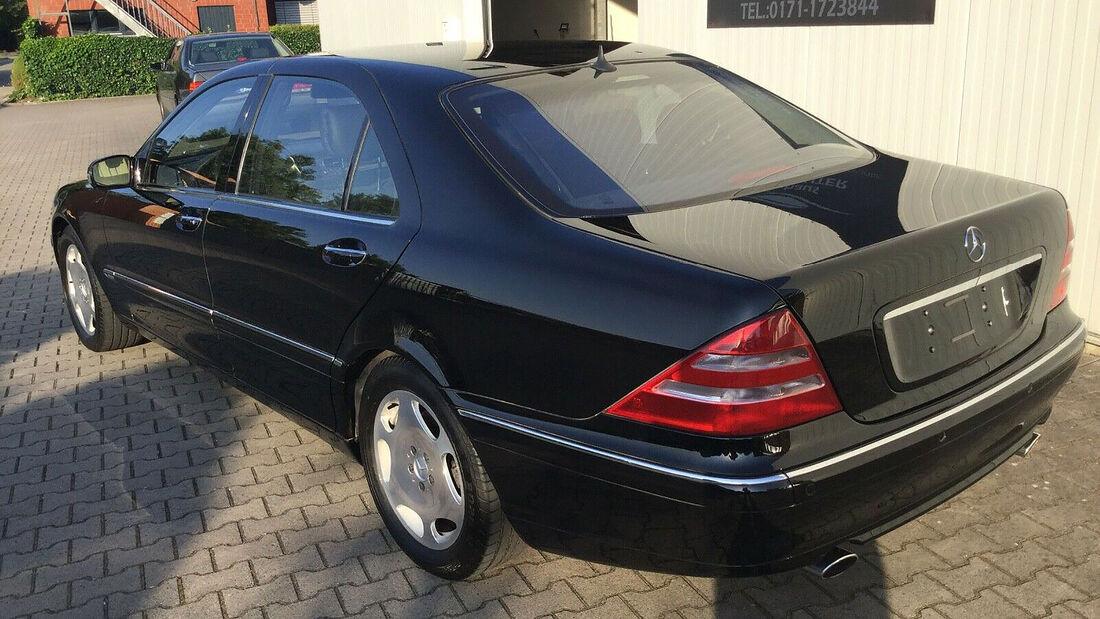 Mercedes S 600 L von Klaus Zumwinkel