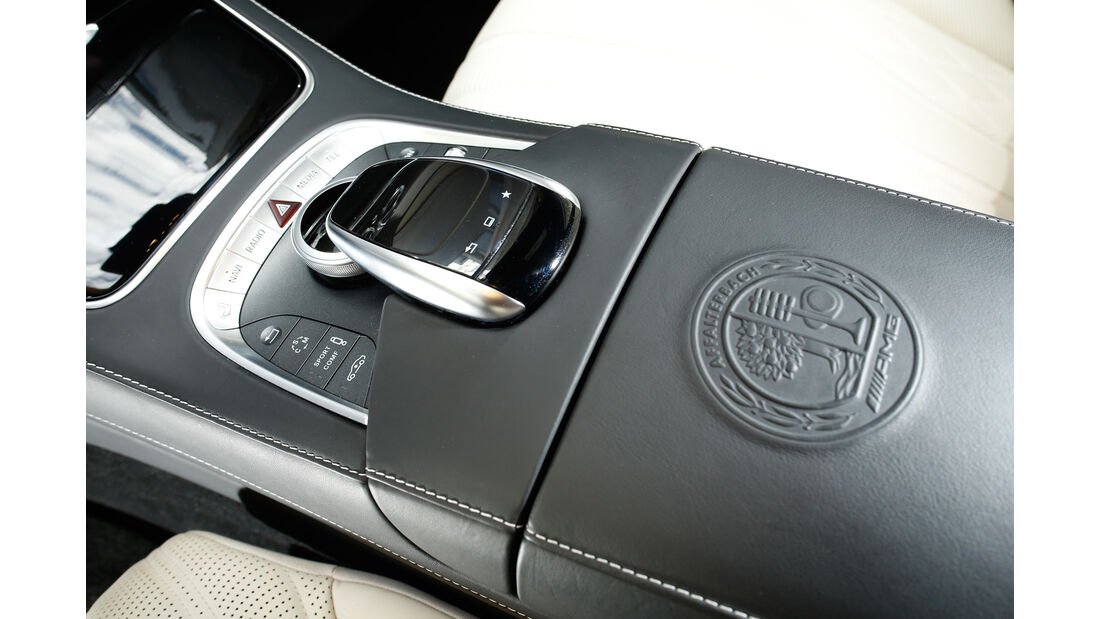 Mercedes S 63 4Matic, Bedienelement