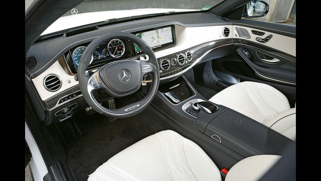 Mercedes S 63 4Matic, Cockpit