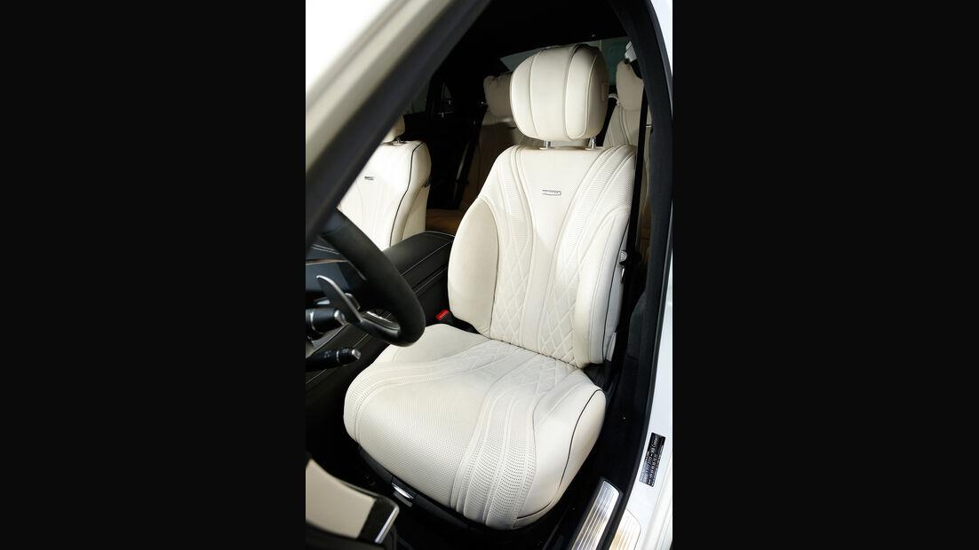 Mercedes S 63 4Matic, Fahrersitz