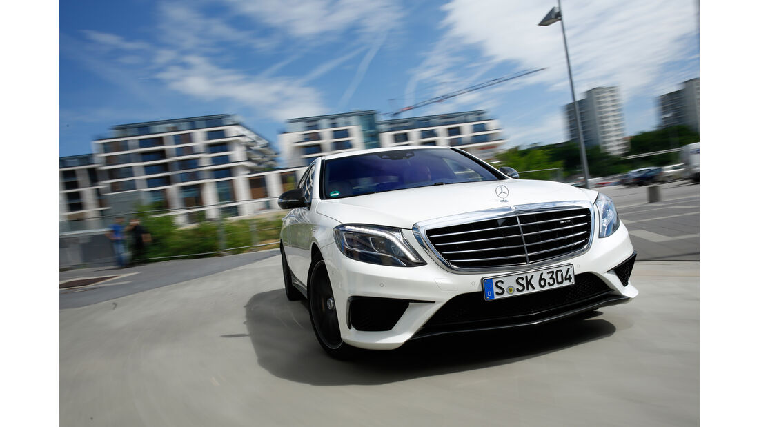 Mercedes S 63 4Matic, Frontansicht