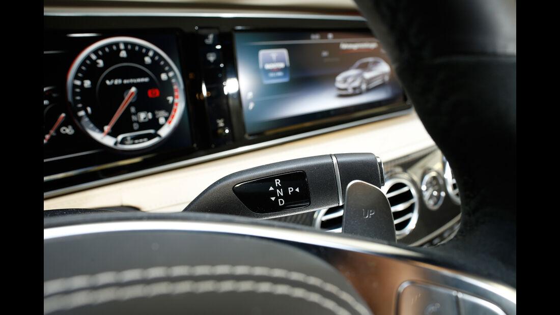 Mercedes S 63 4Matic, Lenkradhebel