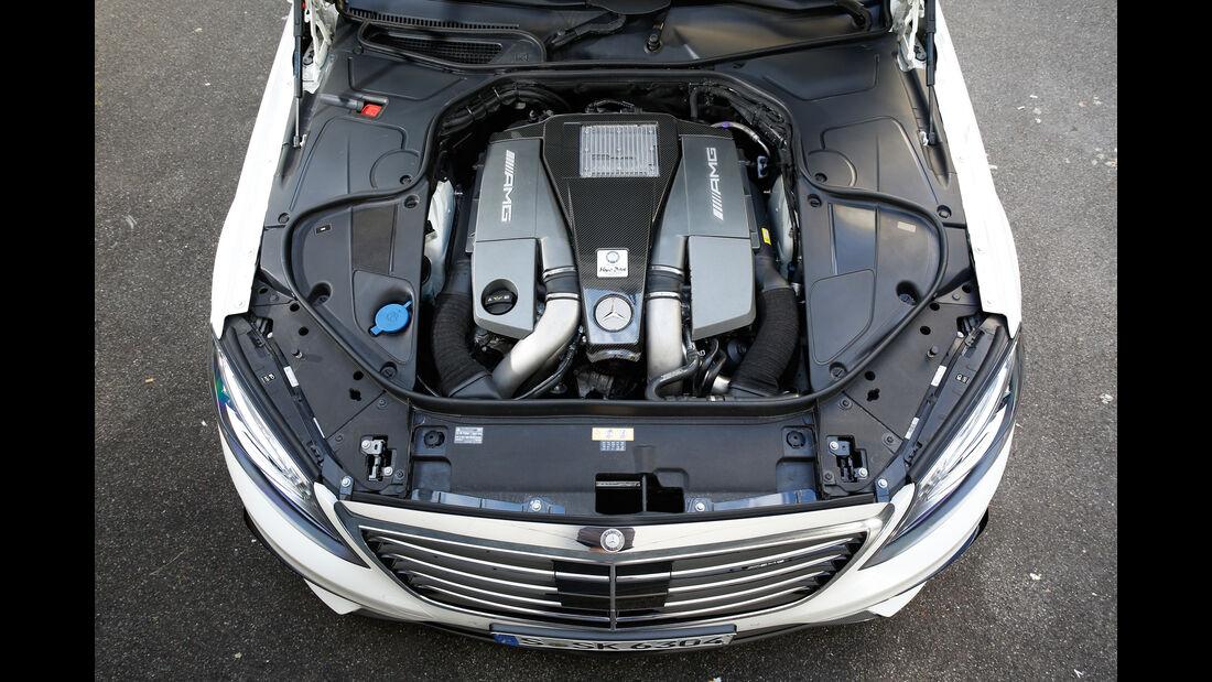 Mercedes S 63 4Matic, Motor
