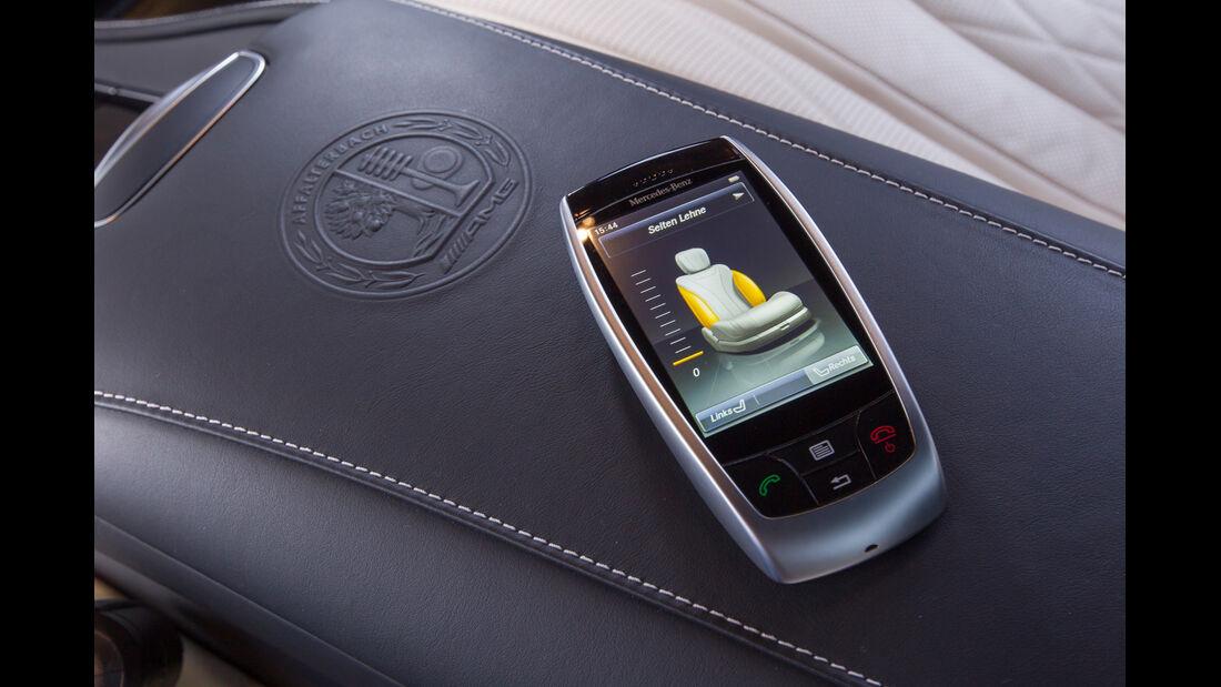 Mercedes S 63 AMG 4Matic, App