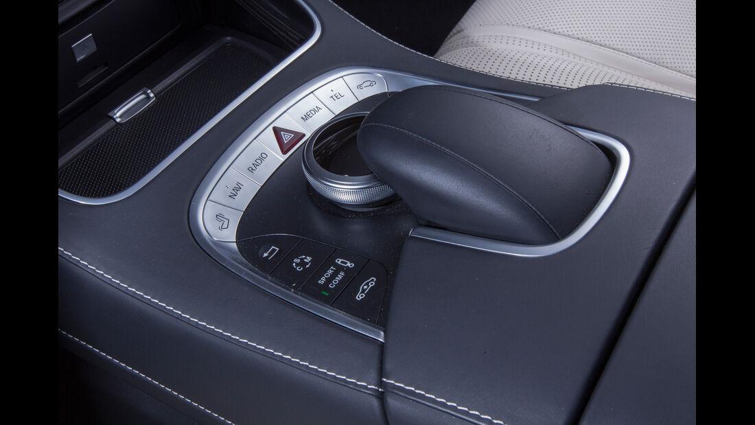 Mercedes S 63 AMG 4Matic, Bedienelemente