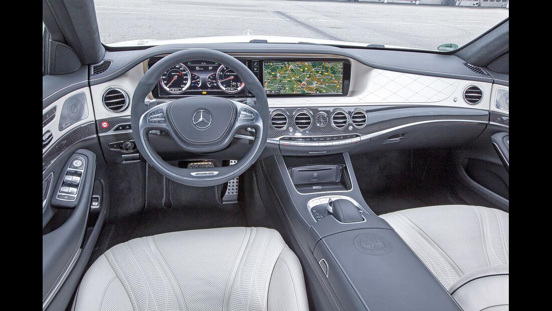 Mercedes S 63 AMG 4Matic, Cockpit