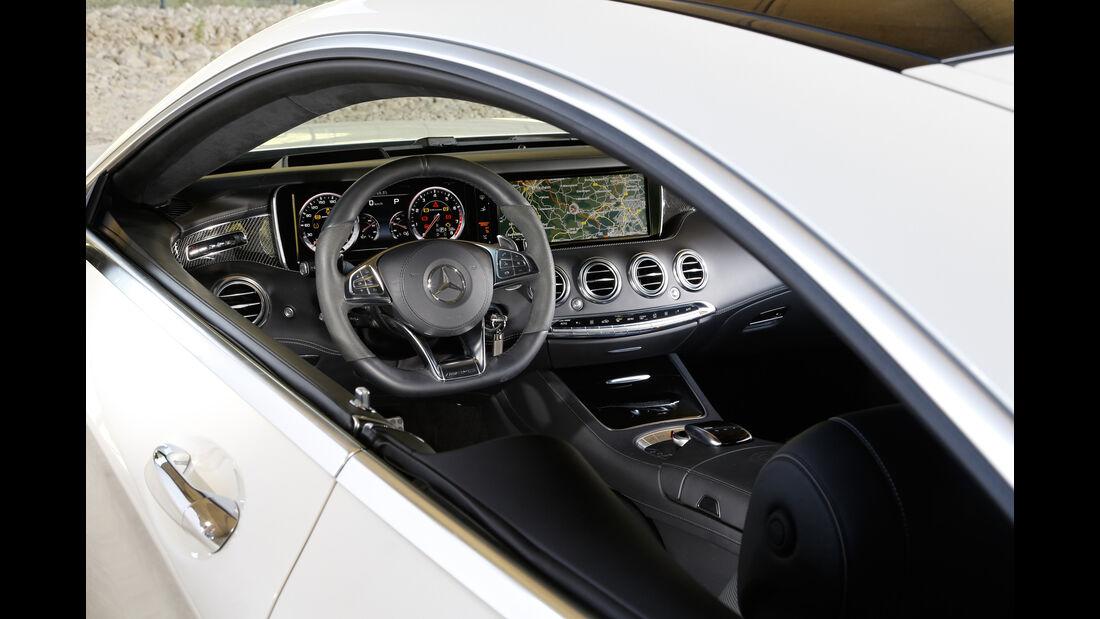 Mercedes S 63 AMG 4Matic Coupé, Cockpit