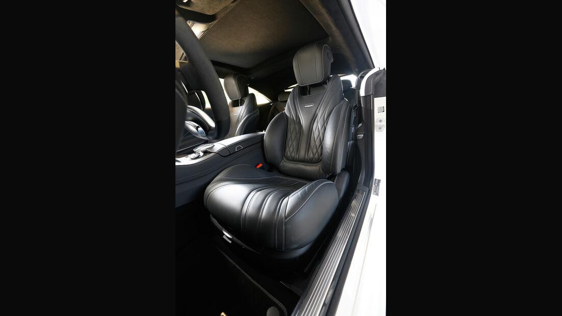 Mercedes S 63 AMG 4Matic Coupé, Fahrersitz