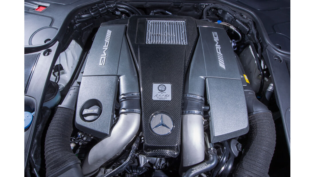 Mercedes S 63 AMG 4Matic, Motor