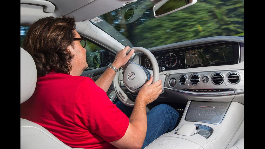 Mercedes S 63 AMG 4matic, Cockpit, Lenkrad