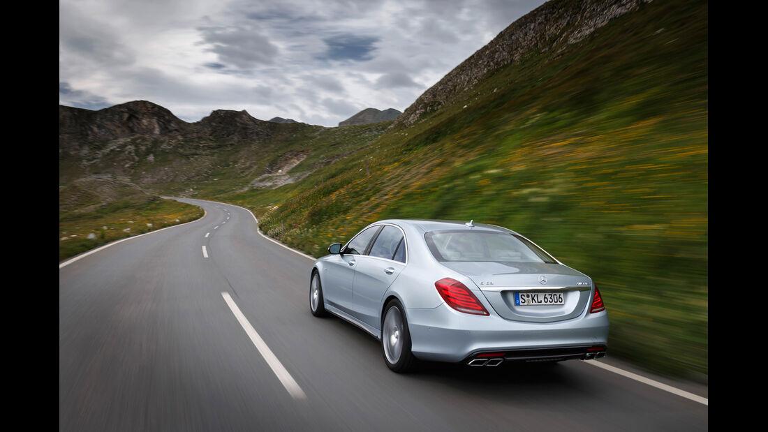 Mercedes S 63 AMG 4matic, Heckansicht