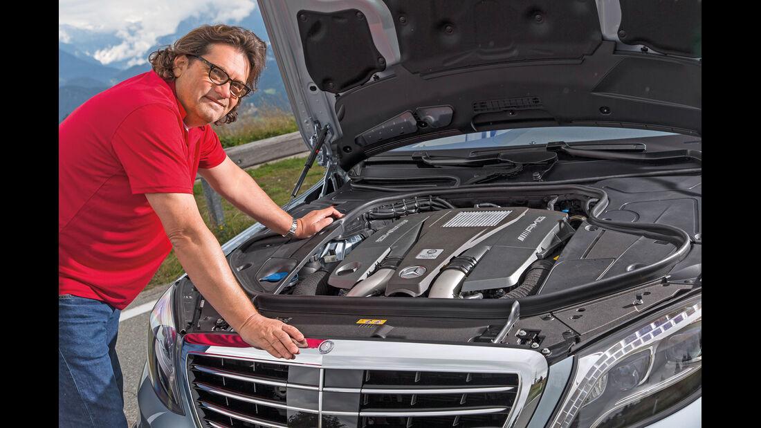 Mercedes S 63 AMG 4matic, Motor, Heinrich Lingner