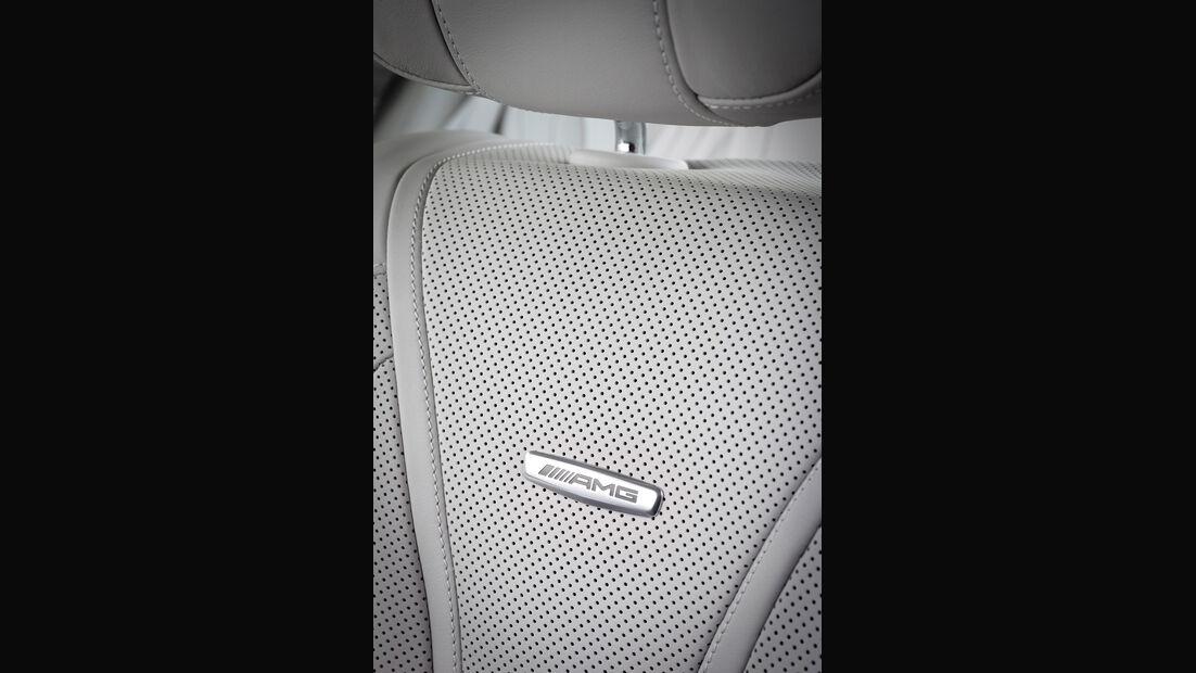 Mercedes S 63 AMG 4matic, Sitz, Detail
