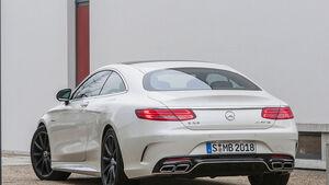 Mercedes S 63 AMG Coupé, Sperrfrist 19.3.2014 9.00 Uhr