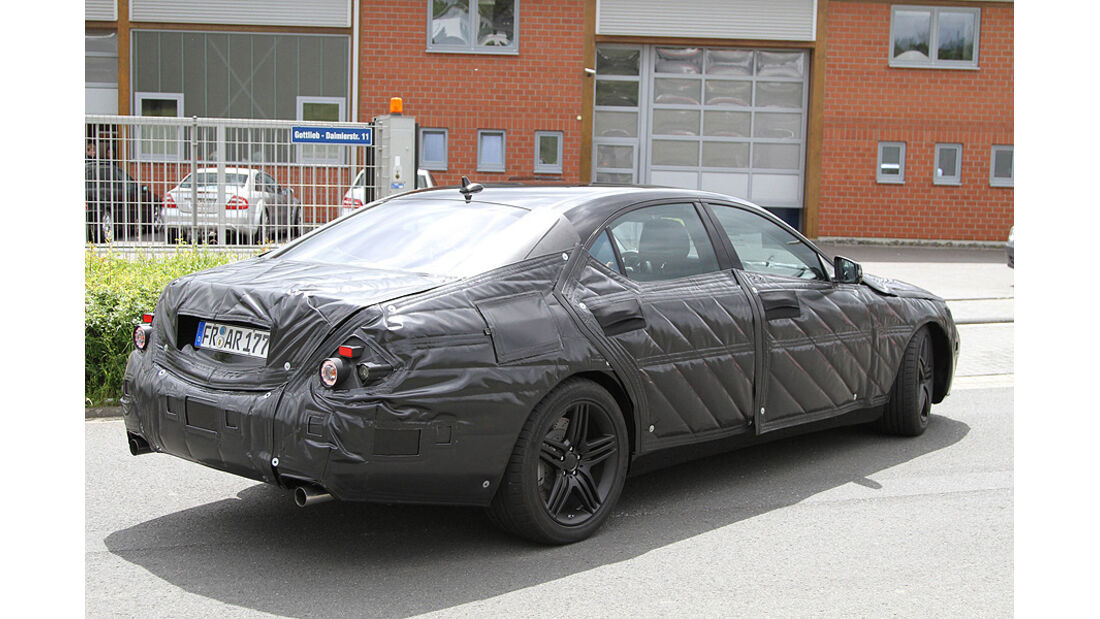 Mercedes S 63 AMG Erlkönig