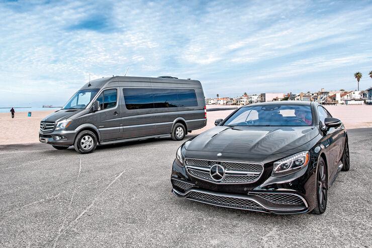 Mercedes S 65 AMG Coupé, Becker JetVan