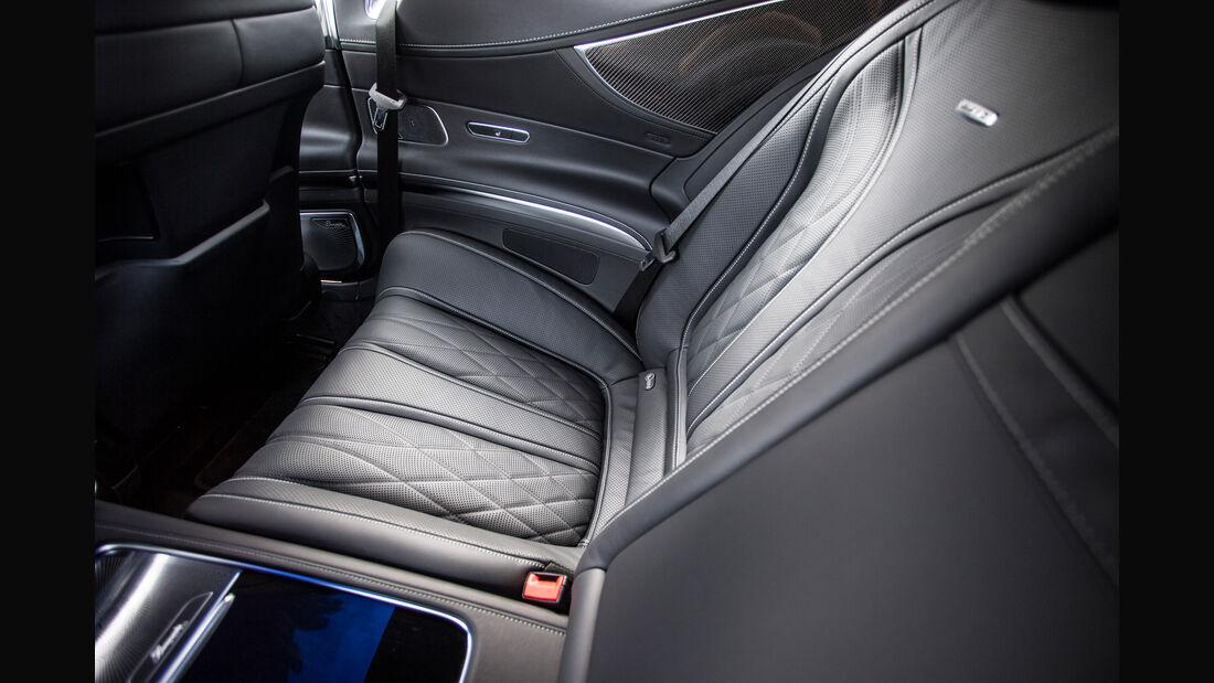 Mercedes S 65 AMG Coupé, Interieur