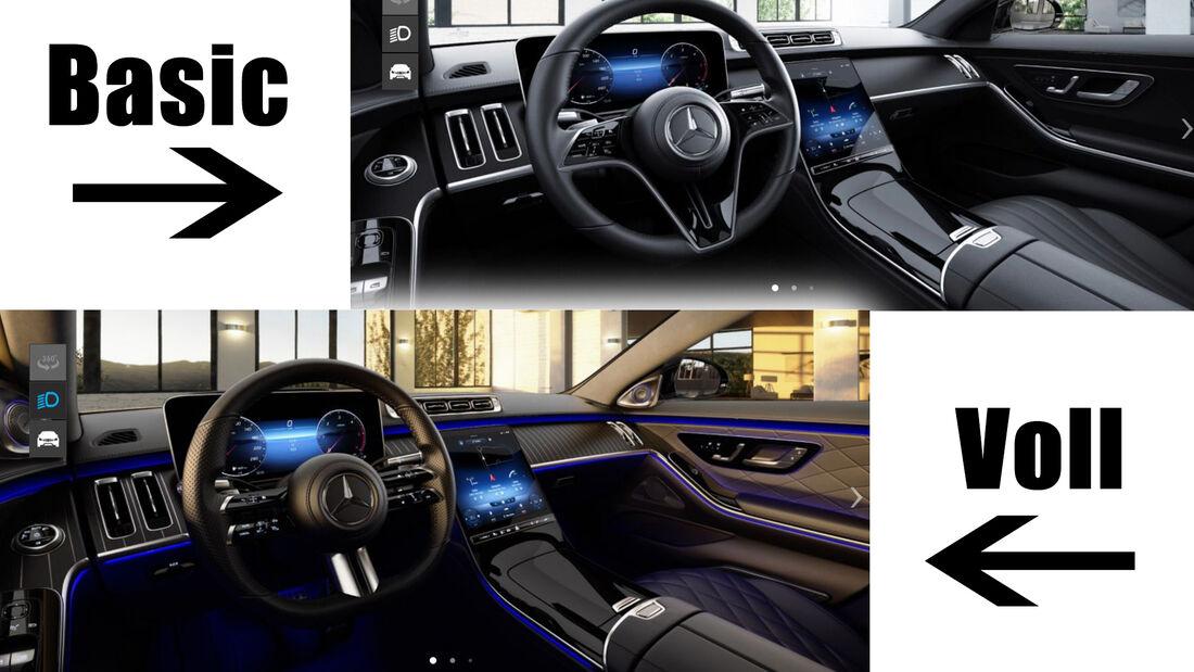 Mercedes S-Klasse 2020 Konfigurator