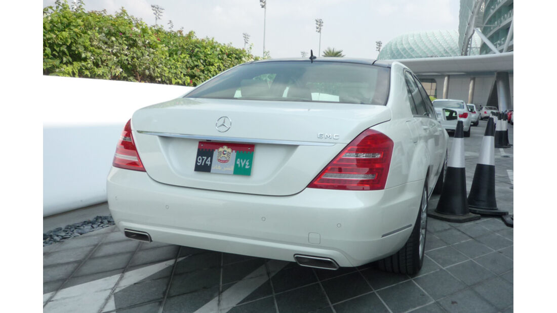 Mercedes S-Klasse Abu Dhabi