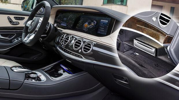 Mercedes S-Klasse Baureihe 222 CD Player Handschuhfach Cockpit