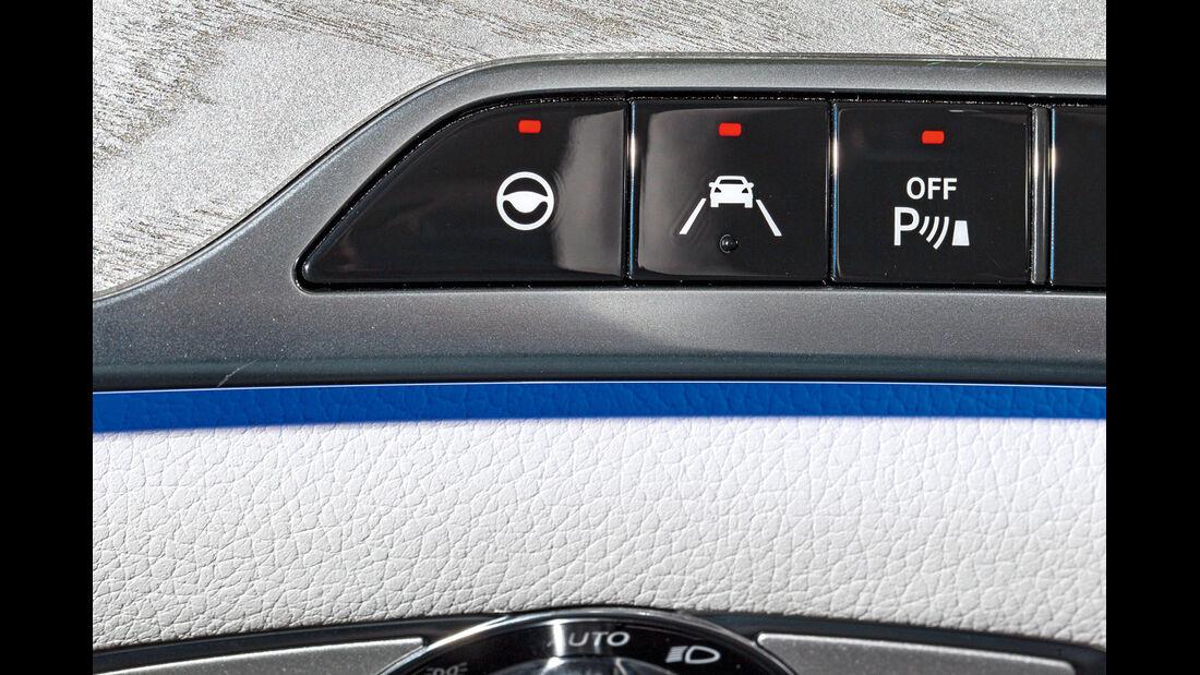 Mercedes S-Klasse, Bedienelemente
