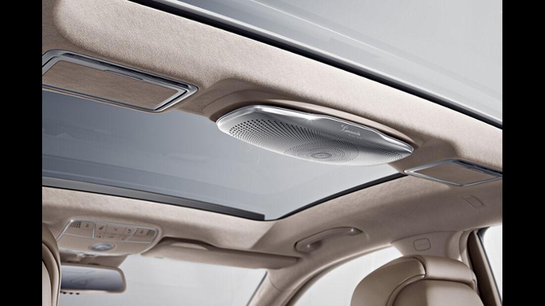 Mercedes S-Klasse, Burmester Audioanlage