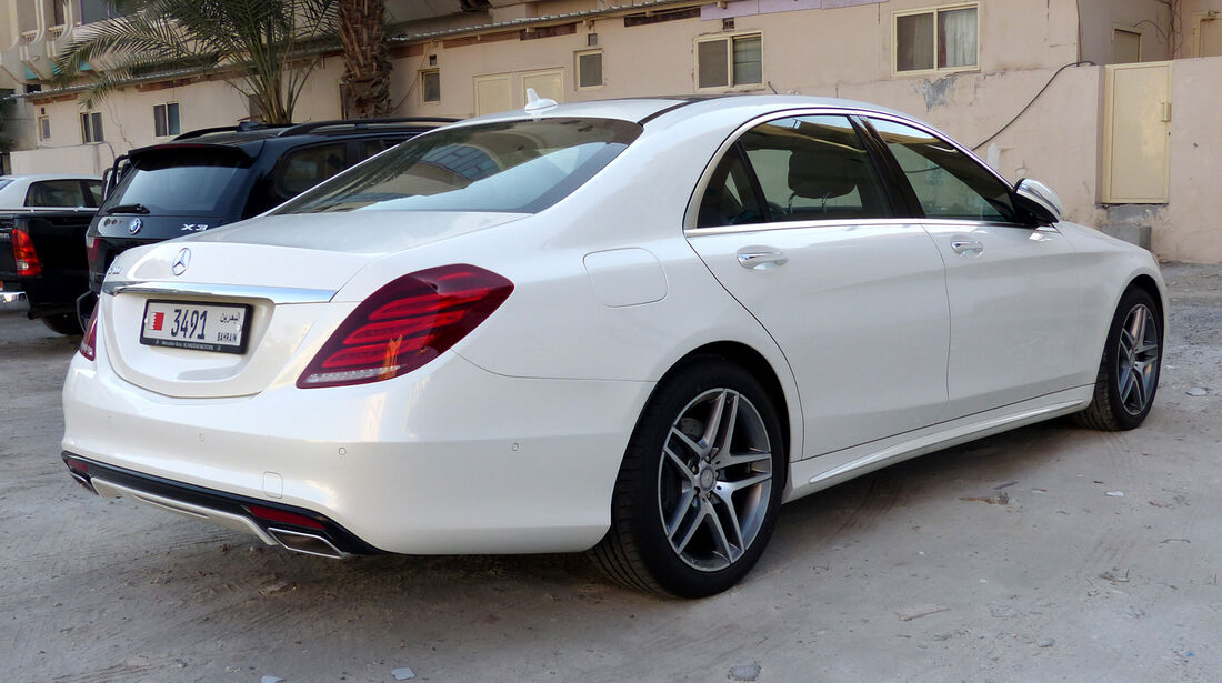 Mercedes S-Klasse - Carspotting Bahrain 2014