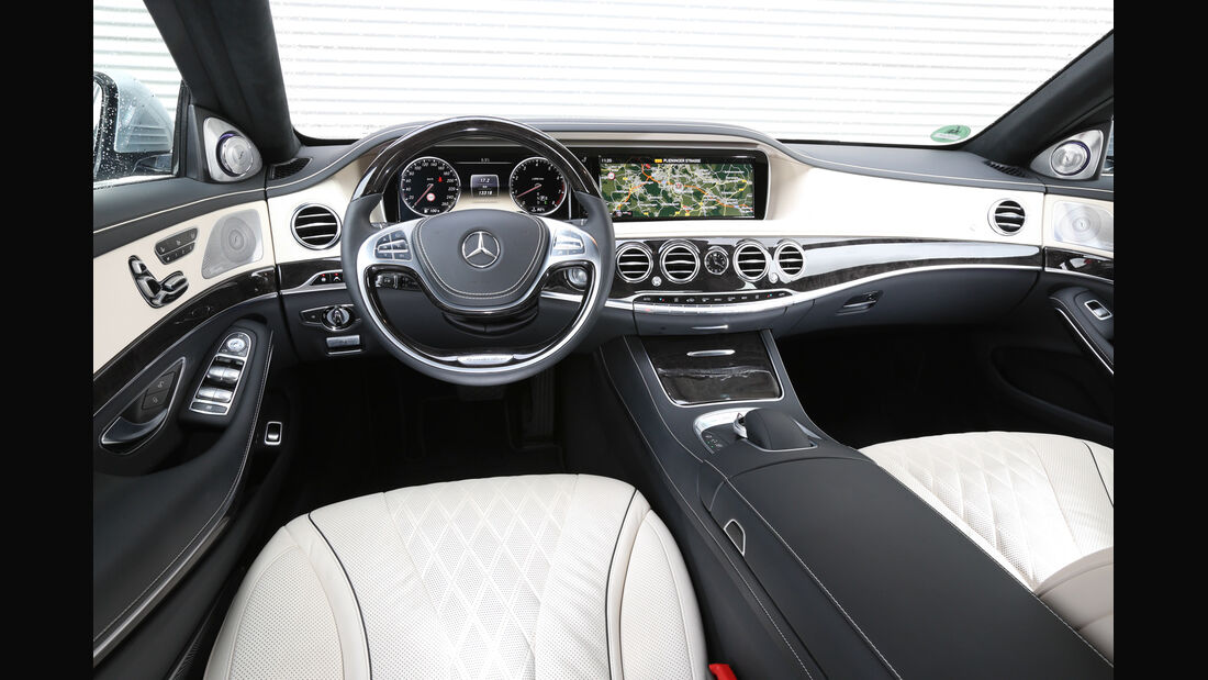 Mercedes S-Klasse, Cockpit